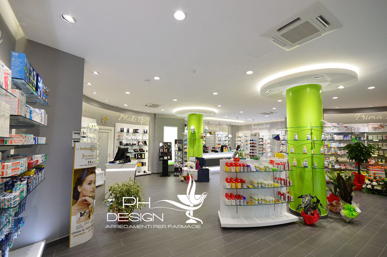 PH DESIGN DESIGN E ARREDAMENTI FARMACIE