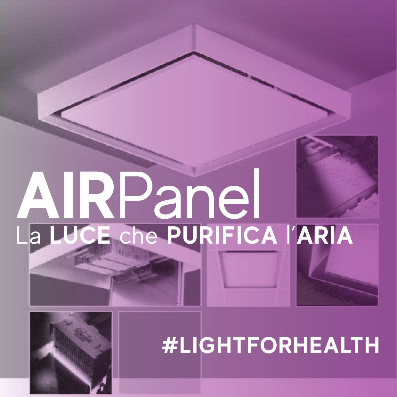 la luce che purifica l'aria