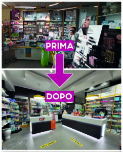 arredamenti per farmacie